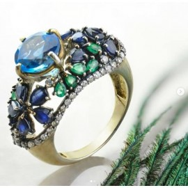 Buy Modern Vintage Engagement Rings
