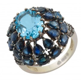 blue sappire rings
