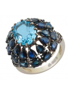 blue sappire rings